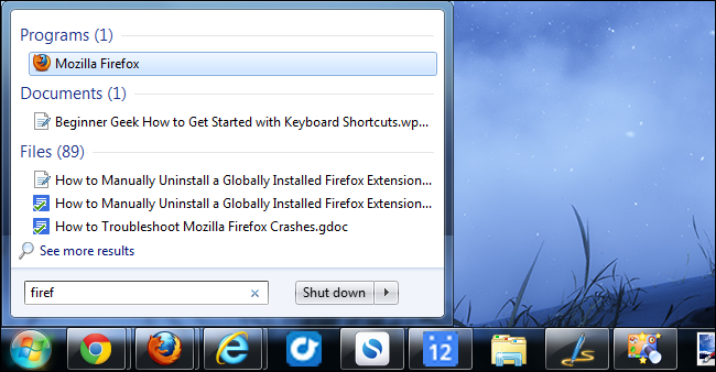 launch-firefox-with-start-menu-search