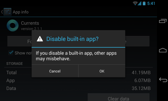 disable-built-in-app