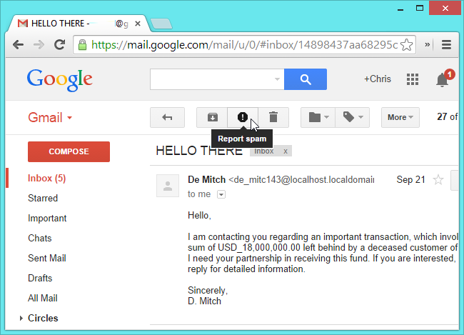 report-spam-email-in-gmail