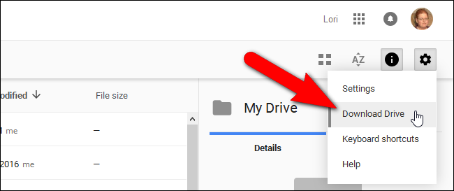 01_selecting_download_drive_when_logged_in_browser
