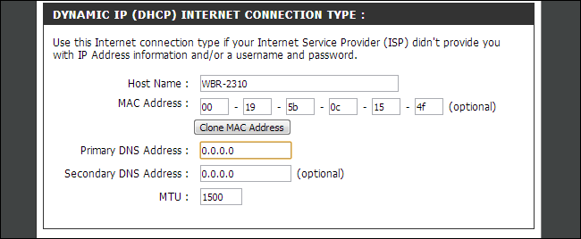 select-dns-server-on-router