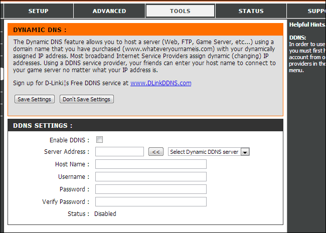 dynamic-dns-router