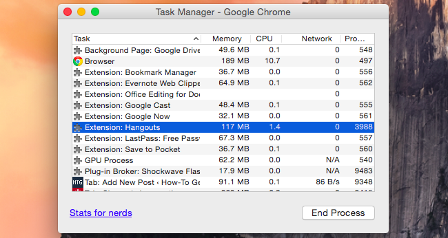 How to make Google Chrome use less battery life, memory and CPU